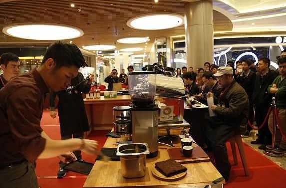 第二届龙江咖啡文化节6日闭幕 龙江人喜欢喝卡布奇诺和拿铁
